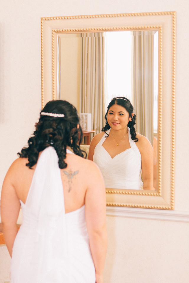 First look in the mirror