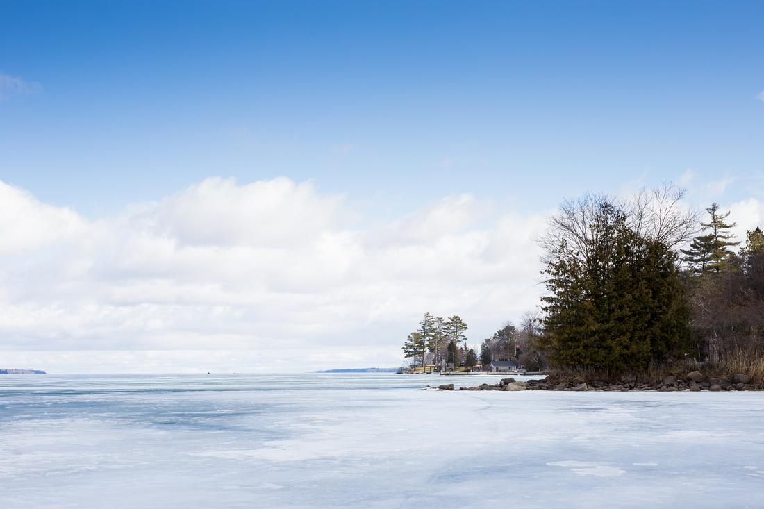 Frozen Lake Simcoe