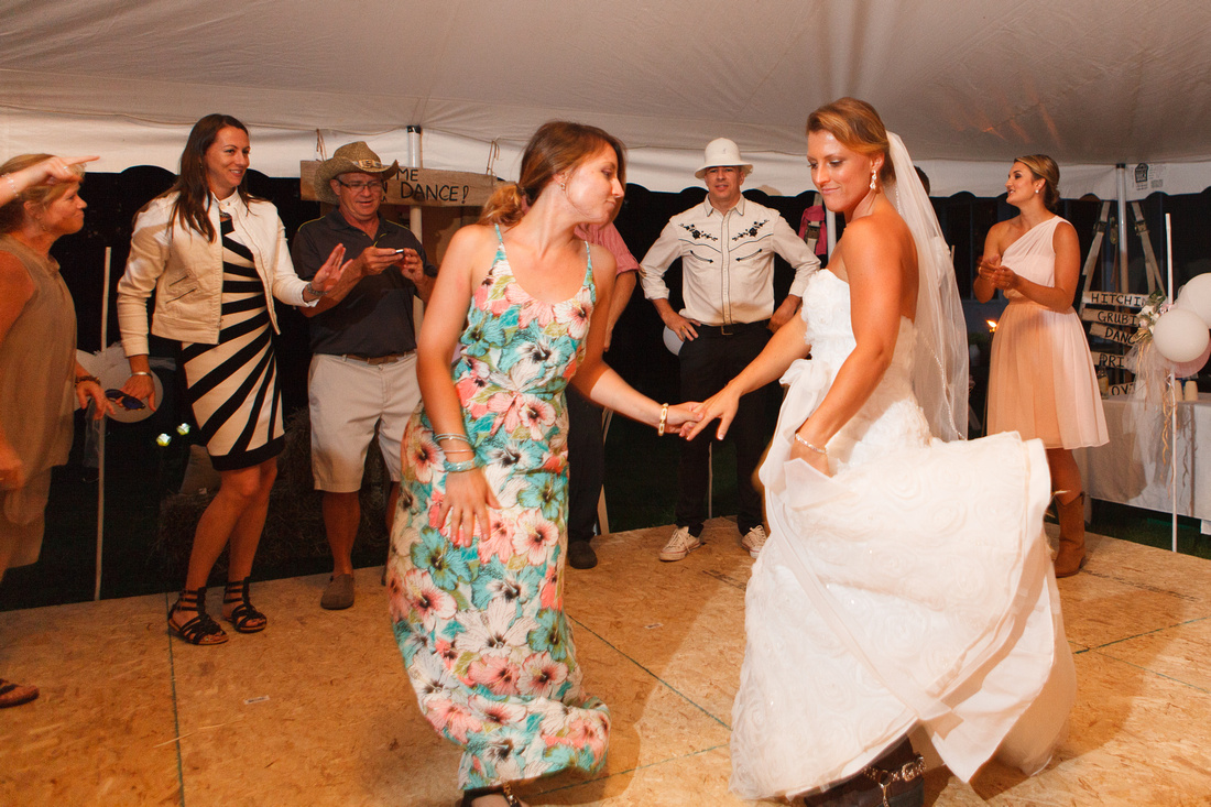 wedding reception action