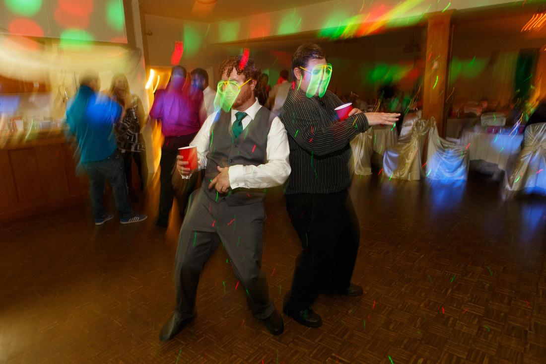 Wedding Reception blur.