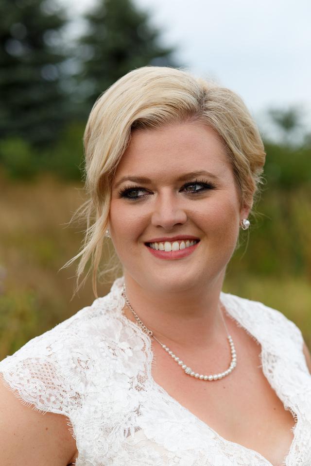 Beautiful bride wedding photography