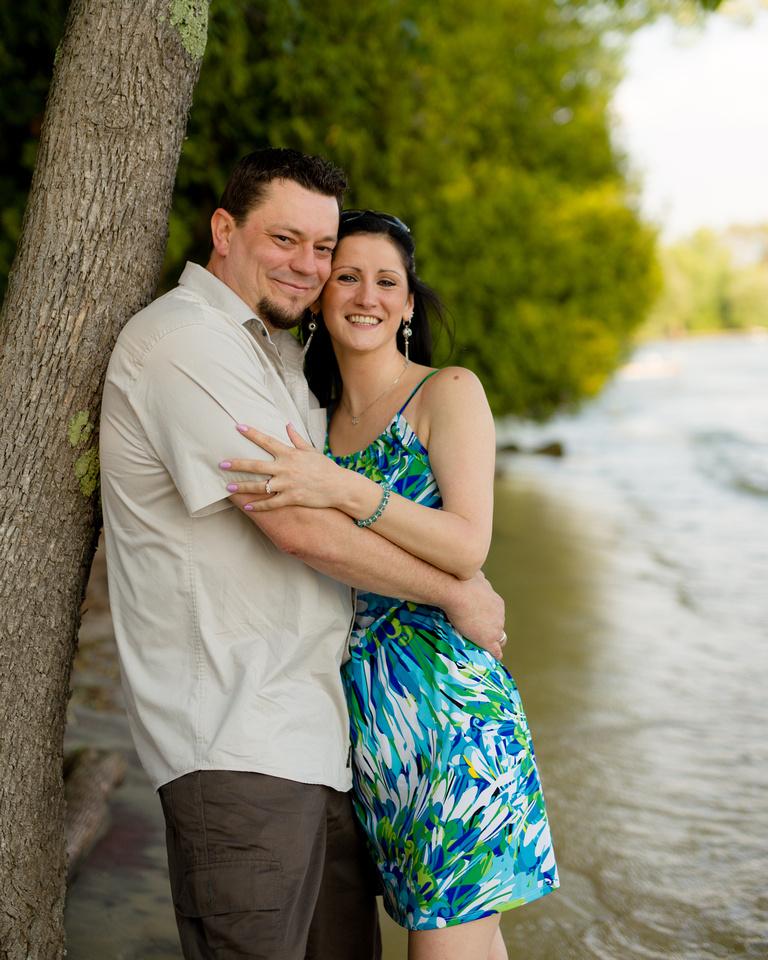 Lake Simcoe Engagement Photographer