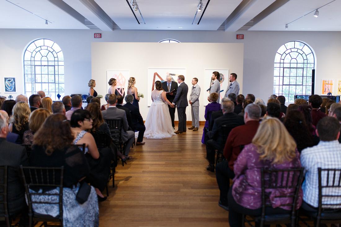 Ceremony / Reception room at the MacLaren Art Centre