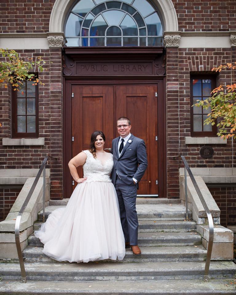 Wedding MacLaren Art Centre