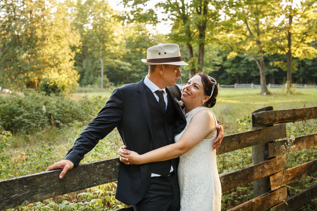 Country Wedding, Tiny township Ontario