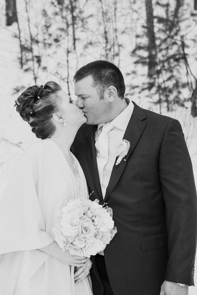 Winter Wedding in Barrie