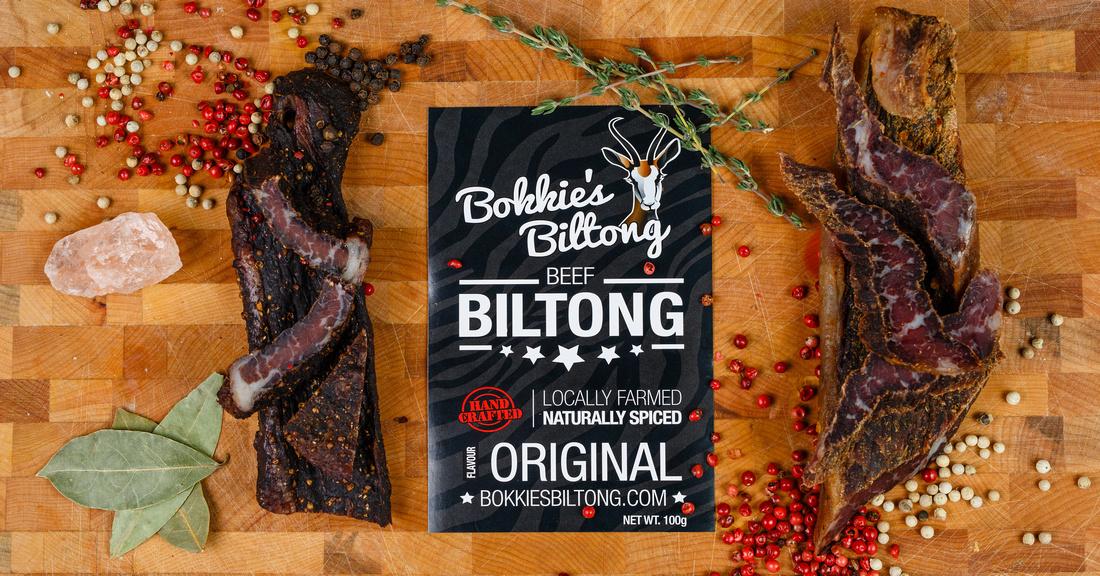 Bokkie's Biltong a local butcher shop in Barrie Ontario