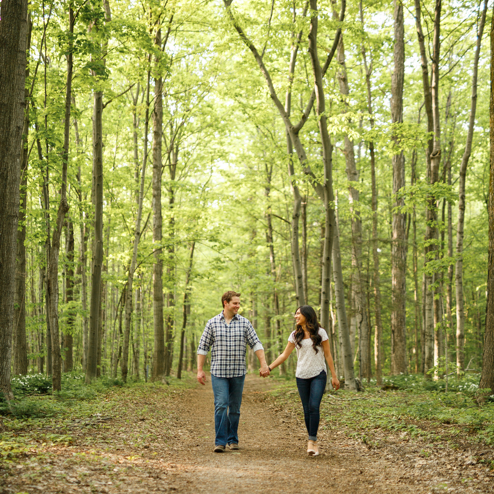Spring Engagement Session, Barrie Photographer